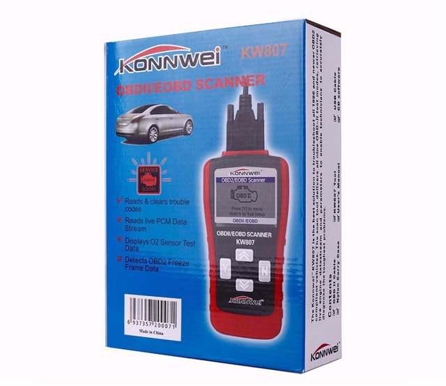 US $38 0 |New KONNWEI KW807 OBD2 / EOBD Car Auto Fault Code Reader Scanner  Car Diagnostics Tool GS500 OBD2 Scanner Free Shipping-in Code Readers &
