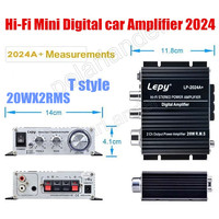 2ch Output Power Amplier Stereo Digital Power Amplifier HI FI Mini Digital Function 20W RMS