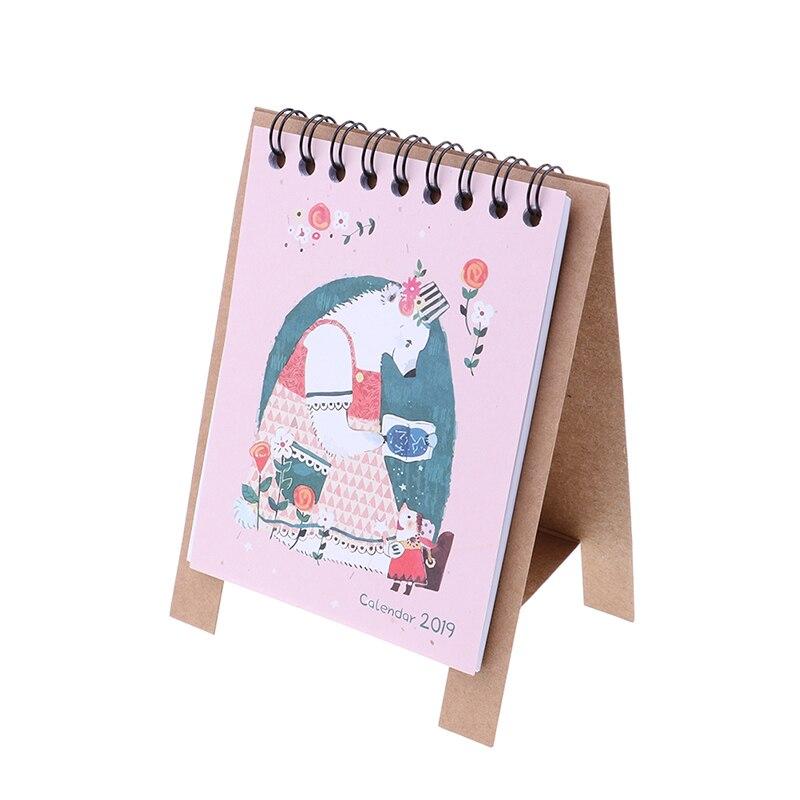 Peerless New Desk Standing Paper Calendar Multifunction Schedule Planner Notebook Kawaii Cartoon Animal Calendar Wide Selection; Calendars, Planners & Cards