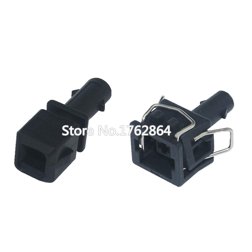 1 Pin 357 972 751 Automotive Waterproof Jacket Socket Connector Wire Header With Terminals DJ7014 3 5 11 21 1P in Connectors from Lights Lighting