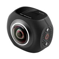 360 Degree Panoramic VR Camera 12MP Wifi 2.7K Dual 220 Wide Angle Fisheye Lens Mini Sport Action Camera App Control