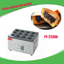1 PC Electric 12 hole red bean cake machine Non-stick coating/ Cake baker/ Baking equipment