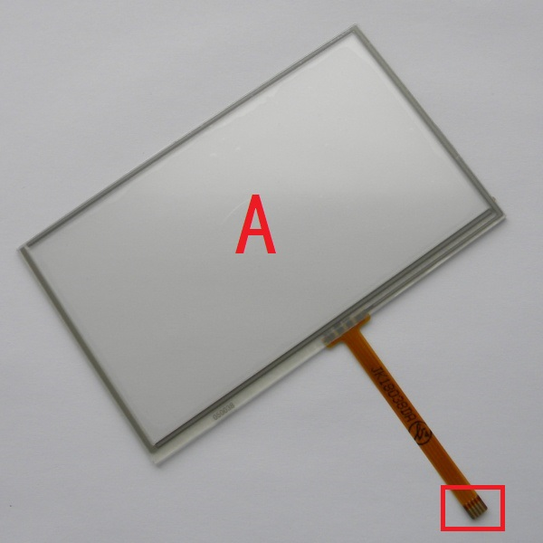New 4.3 inch 4Wire Resistive Touch Panel Digitizer Screen For Prestigio Geovision 4200 4200BT new 10 1 inch 4 wire resistive touch screen panel for 10inch b101aw03 235 143mm screen touch panel glass free shipping