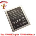 4600 mAh Original estrela N9000 Bateria Kingelon N9800 Quad Core mtk6582 Batterie Bateria Batterij acumulador AKKU PIL