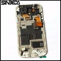 Sinbeda Одежда высшего качества гарантия ЖК-дисплей для Samsung Galaxy S4 мини I9190 I9192 I9195 ЖК-дисплей Дисплей сенсорный дигитайзер Экран с Рамки