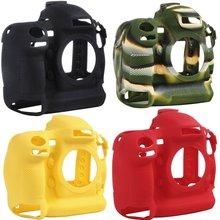 Camera case non-slip wear-resistant comfortable portable durable For Nikon D4/D4S Silicone Case