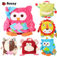 Sozzy Plush Backpack Snuggle Stuffed Cute Gift For Little Kids And Toddlers Soft Cuddly Animals Children