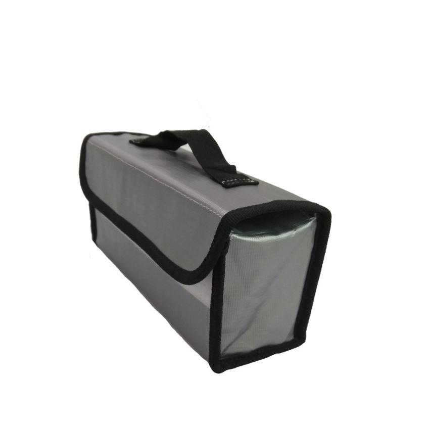 LiPo Li-Po Battery Fireproof Safety Guard Safe Bag 220*100*75MM Feb21