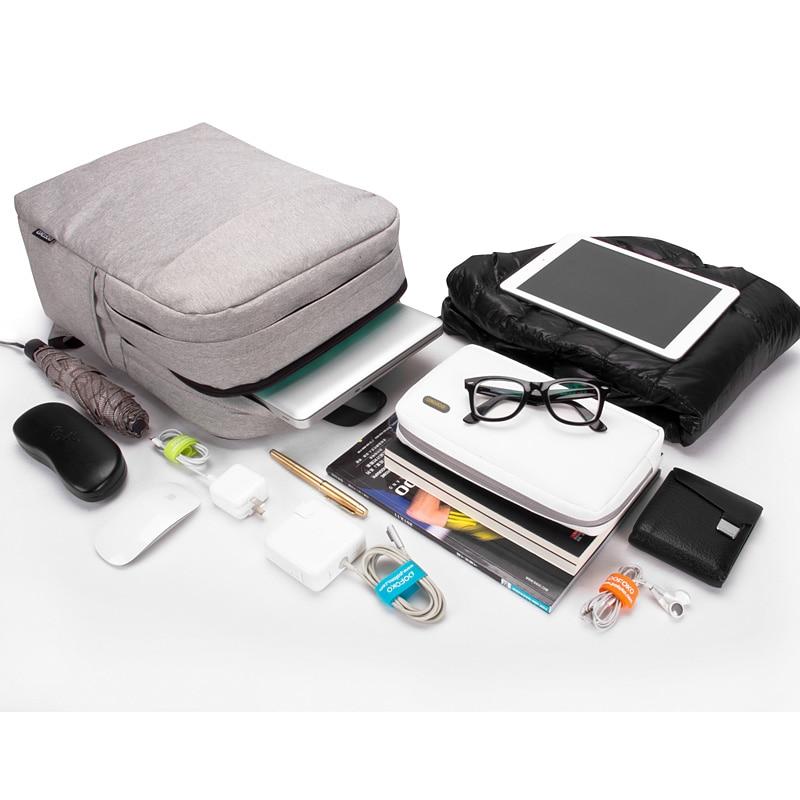 2016 Hot 15.6 inch Computer Laptop Backpack Man lady Notebook Waterproof weekend travel bag for macbook HP Asus Dell