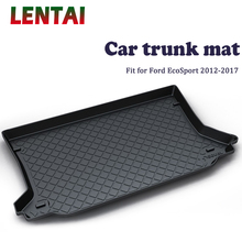 new 3d floor mats for ford ecosport 2014 2015 2016 element carfrd00025k delivery from russia EALEN 1PC Car rear trunk Cargo mat For Ford EcoSport 2012 2013 2014 2015 2016 2017 Boot Liner Tray Anti-slip Mat accessories