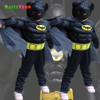 Superman 2017 Halloween Children Boy Girl Performance Show Clothes Suit Cartoon Anime Kids Sets Party Carnival
