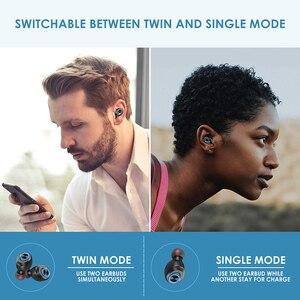 Image 5 - Anomoibudsカプセルプロ50時間プレイタイムaac tws bluetooth V5.0ヘッドホンワイヤレスアンドロイドiphone