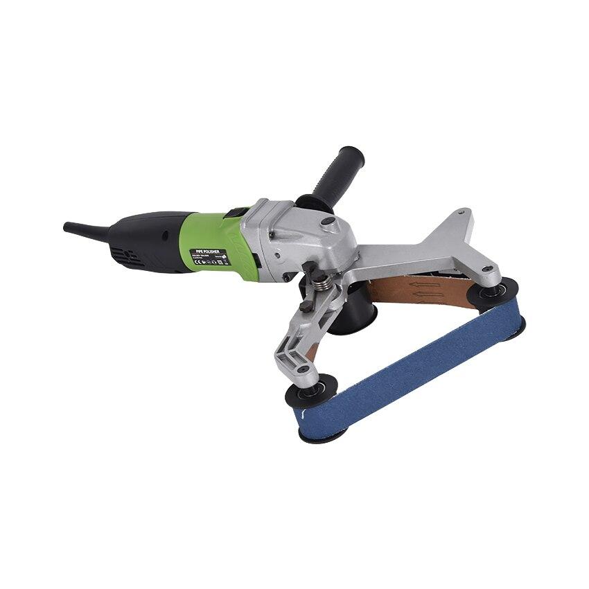800W 110 V/220 V Tragbare Schleifen Polieren Maschine Rohr Gürtel Sanders Polierer Für Edelstahl Rohr Verarbeitung polieren Werkzeug
