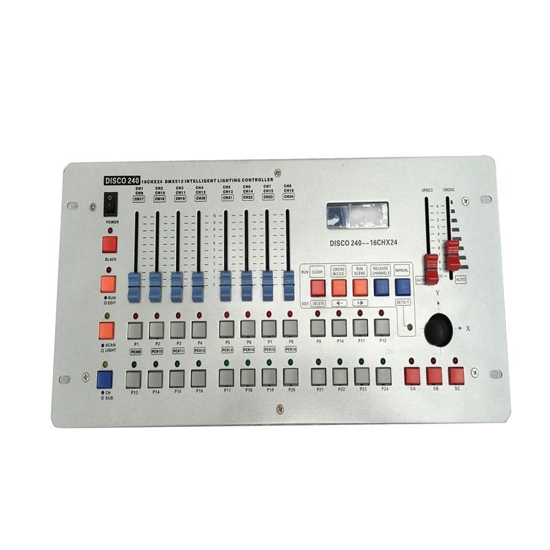 HOT Selling 24 Channels Disco240 DMX Controller For Disco Nightclub Party Bar DJ DMX Lighting Dmx