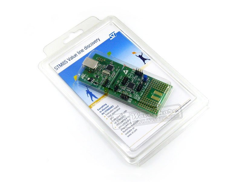 module STM8SVLDISCOVERY STM8S003K3T6 STM8S003 STM8S Value Line Discovery Kit Evaluation Development Board Embedded ST-Link kitqua37798saf7751gr value kit quality park clasp envelope qua37798 and safco e z sort steel mail sorter module saf7751gr
