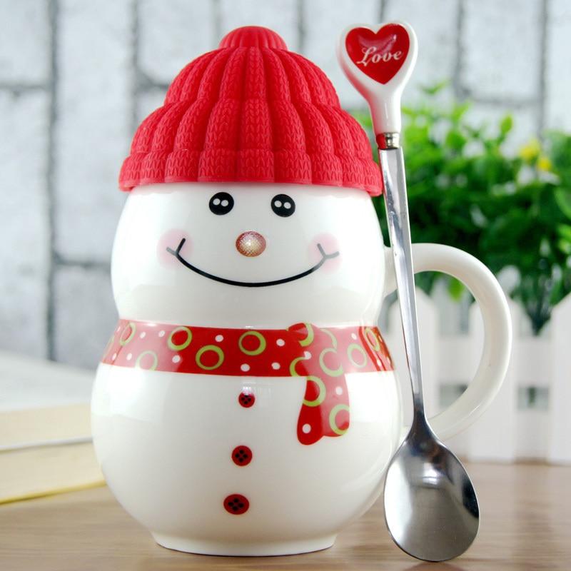 2017 schneemann Becher Kreative Weihnachtsgeschenke Kaffee Milch ...