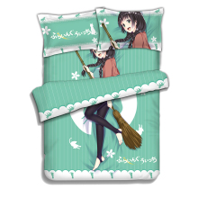 Japanese Anime  Bedding Sheet Bedding Sets Comforter Sets Pillow Case 4PCS