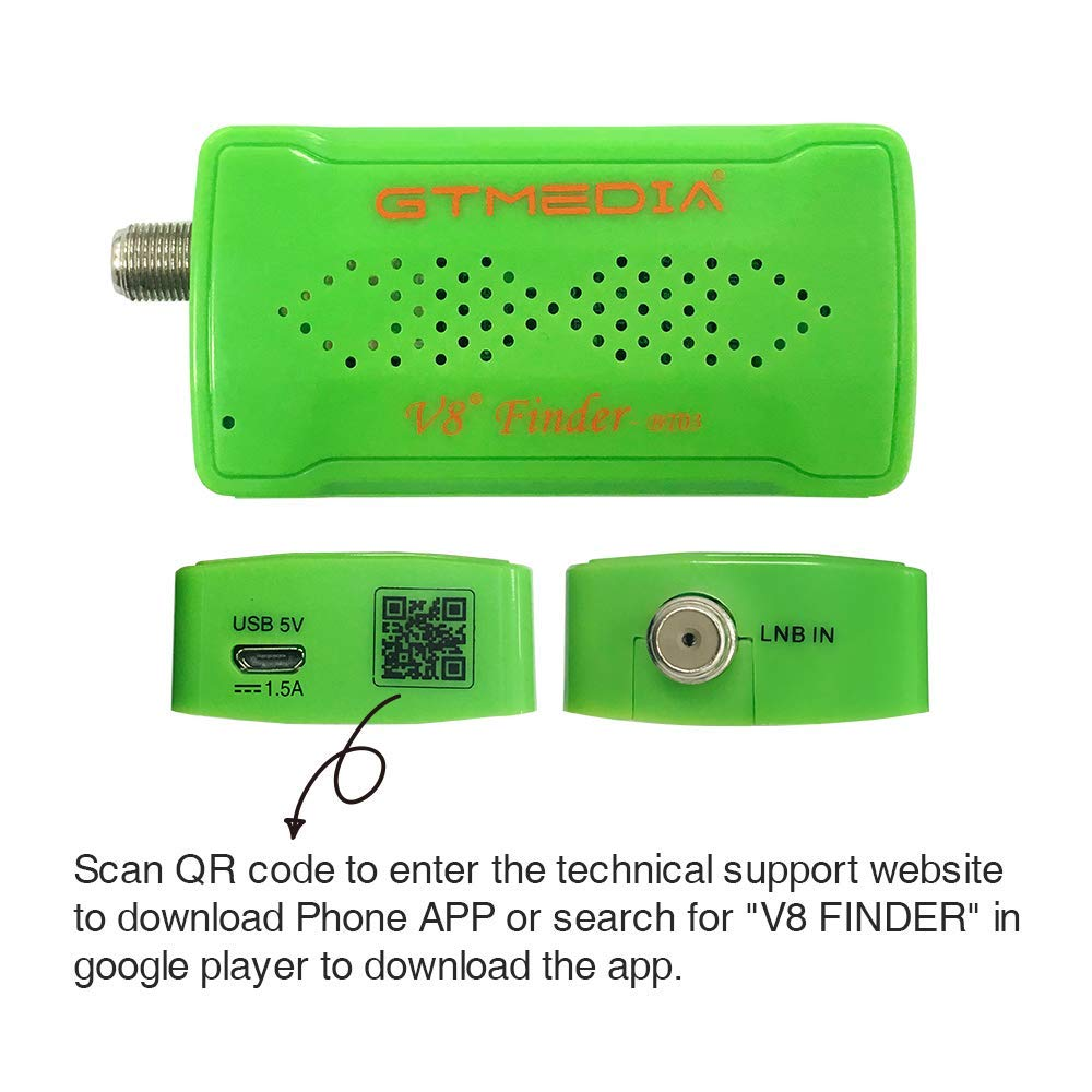 GTmedia V8 Finder BT03 Mini Sat finder BT DVBS2 Satellite Finder Meter With  Android & IOS System App Freesat BT01 Upgrad HD1080P