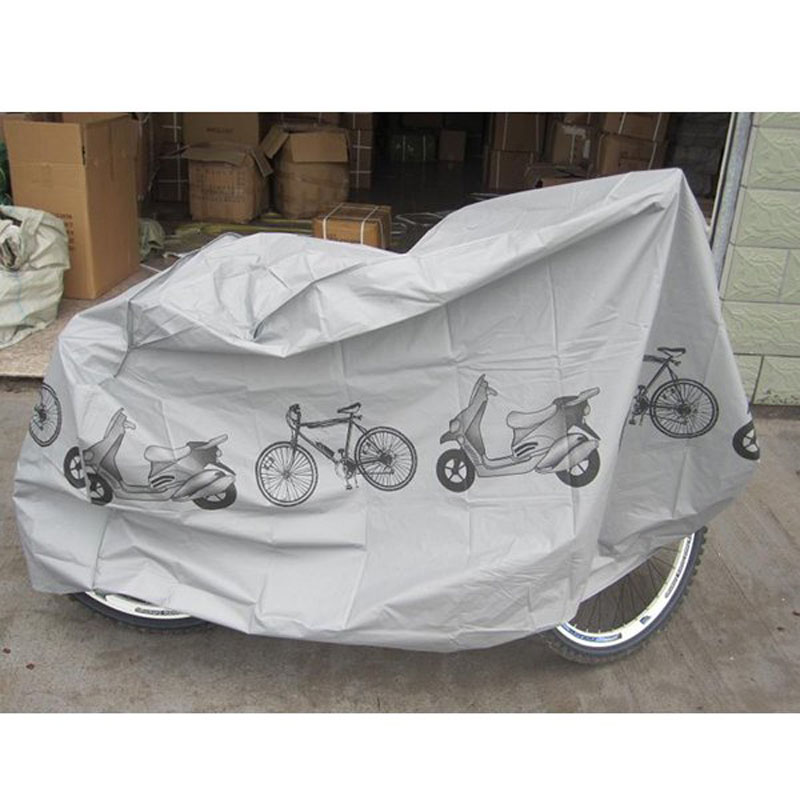Awning Grey Waterproof Bicycle Cycling Rain shade bike anti Dust Cover detector Protector Protection Garage yp100480 alu 100x480cm mountainnet 1m x 4 8m uv rain protection awning polycarbonate outdoor awning patio cover