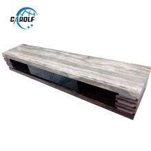 Новые продукты онлайн мебель для гостиной современная ТВ стойка деревянный ТВ стол с серым мраморным верхом