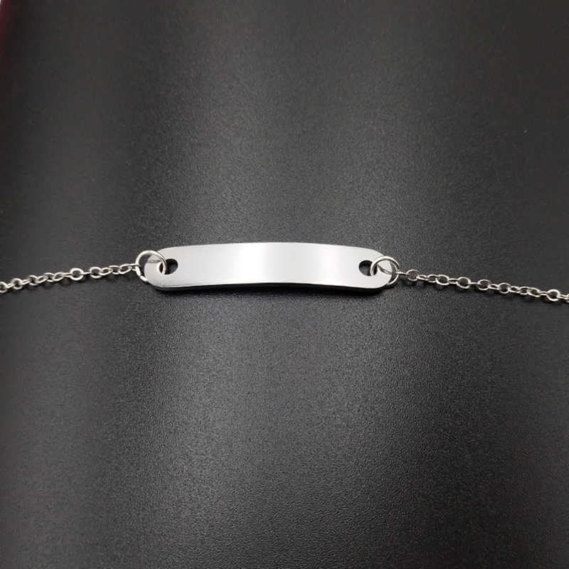 سوار الفولاذ المقاوم للصدأ Blackpink عضو توقيع رسالة فضية اللون سلسلة أساور للنساء الرجال المشجعين مجوهرات اكسسوارات
