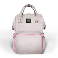 Large Capacity Diaper Bag Mommy Baby Nappy Bag Fashion Double Shoulder Backpack Mother Kids Stroller Pram