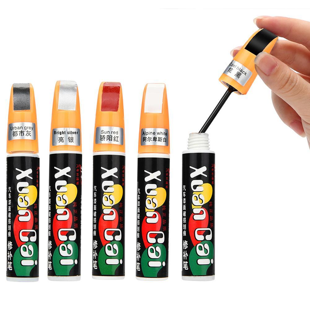 Professional Matt Car Scratch Repair Pen Auto Care 5 Colors Car Paint Solvent Scratch Repair Care Auto Paint Pen