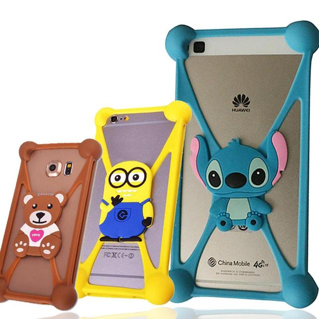 timeless design 85ad3 9c0fe RINGCALL Cover Case For Elephone M2 M3 P3000 P3000S ECOO E04 plus Cute  Animals Pattern Soft Rubber Case-in Phone Bumper from Cellphones & ...