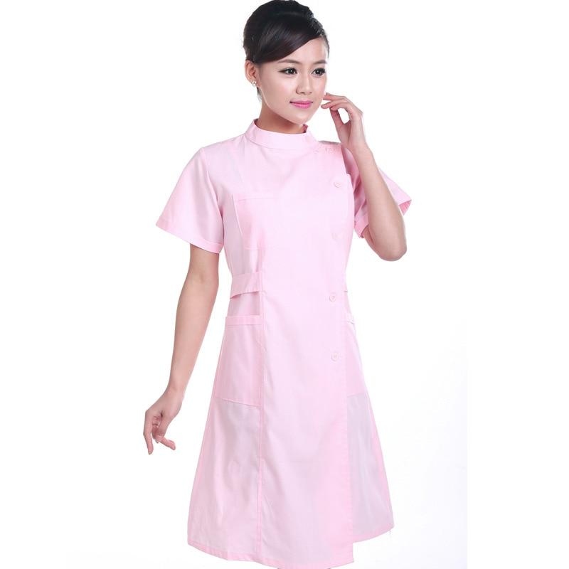 Nurse Uniform Hospital Lab Coat Korea Style Women Hospital Medical  Clothes Uniform Fashion Design Breathable Work Wear