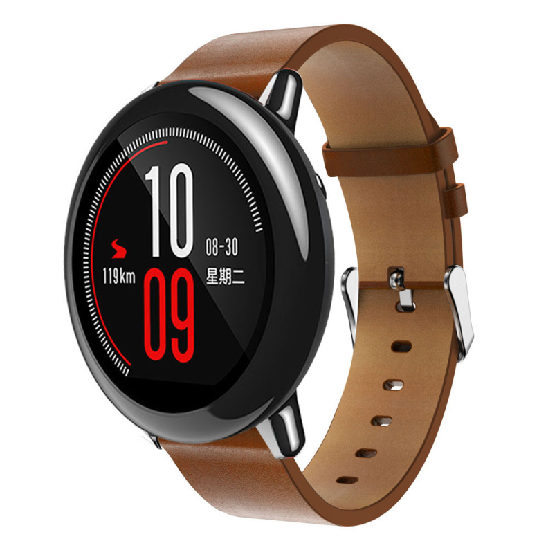 Excellent Quality New Replacement Leather Watch Bracelet Strap Band For Xiaomi Huami Amazfit A1602 Feb 21