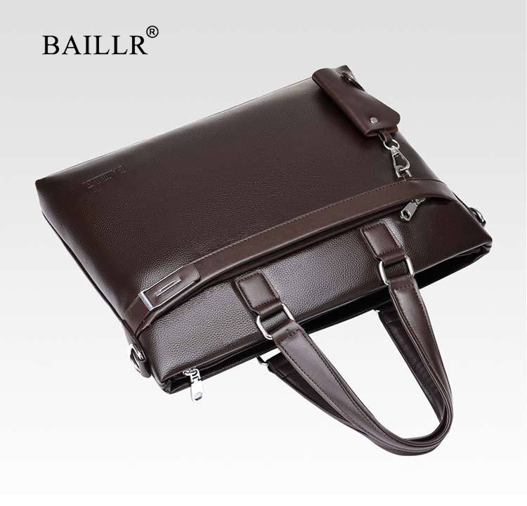 Promotions 2019 New Fashion Bag Men Briefcase PU Leather Men Bags Business Brand Male Briefcases Handbags Wholesale High Quality