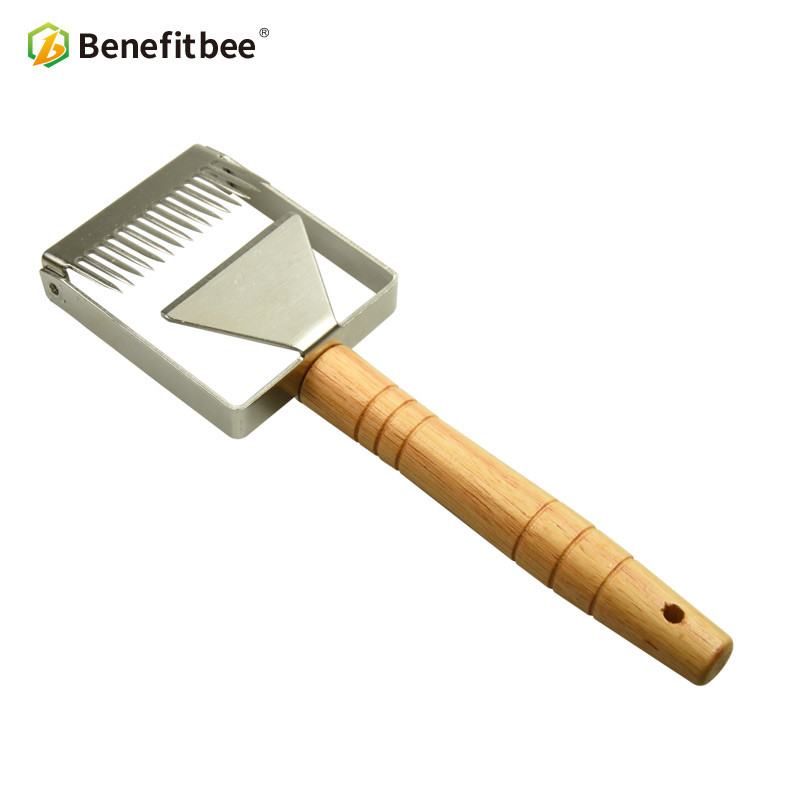Benefitbee Brand the Honey Uncapping Scraper Uncapping Fork Honeycomb Honey Scrapers Beekeeping Tool Apiculture Equipment-in Beekeeping Tools from Home & Garden