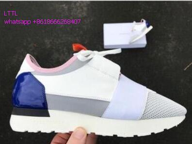 ФОТО 2017 Real Grain Leather Suede and Neoprene Mesh Low Top Trainers Women Shoes Causal Uomo Flats Full Grain Leather Shoes Women