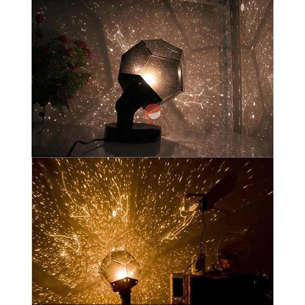 Charmant Romantic Planetarium Astro Star Laser Projector Cosmos Bedroom Fantastic  Night Light Lamp Children Gift
