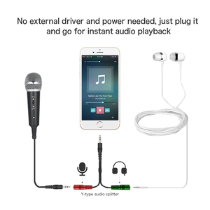 Image 5 - Professional Condenser Microphone MikrofonStudio Recording Mic Microphones with Mini MIC Stand for iPhone Laptop PC Tablet