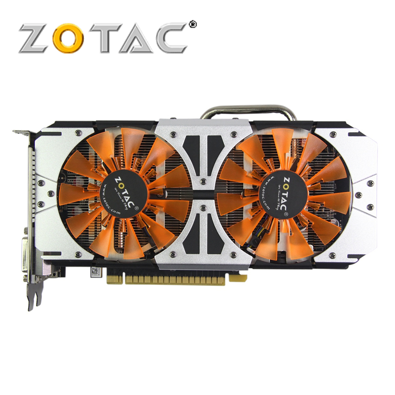 Original gamerock Premium Edition tarjeta de vídeo GPU GTX 750Ti 2 GB 128Bit GDDR5 mapa para tarjetas de gráficos nVIDIA GeForce GTX750 Ti Thunderbolt 2GD5