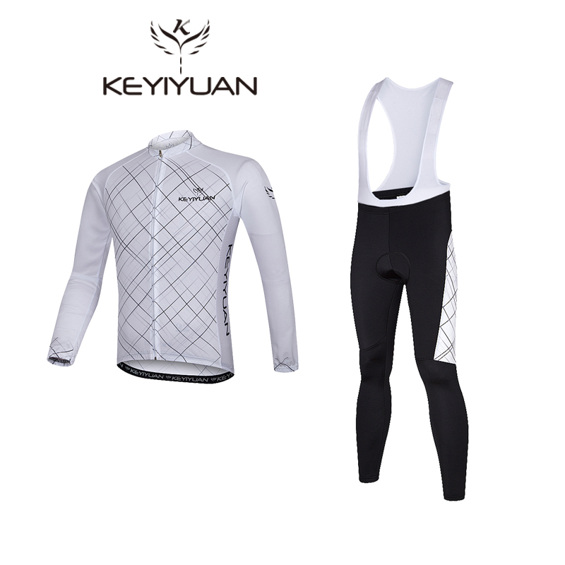 KEYIYUAN men riding long suit men s summer bask long sleeve blouse cycling suits mountain bike