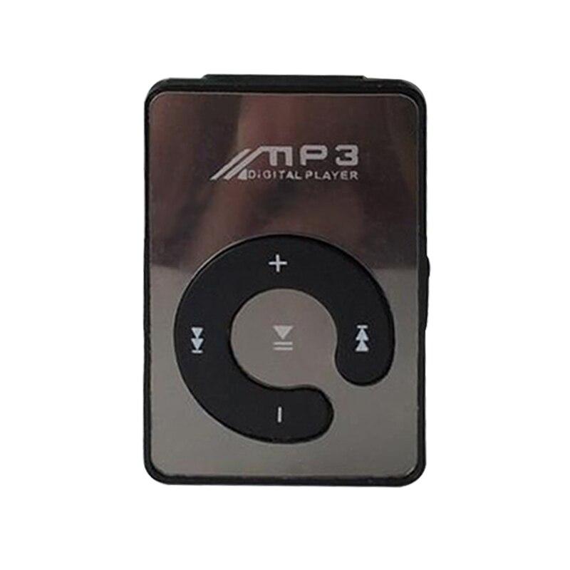 8 ГБ карты памяти с USB кабель и наушники Портативный MP3-плееры Мини Clip MP3-плееры Водонепроницаемый Спортивный MP3 плеер walkman