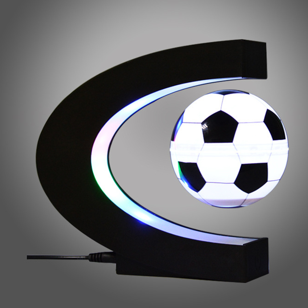 2019 New Football Levitation Create the You soccer ball LED Maglev Life Deserve fans gift EU US AU good product dropshipping