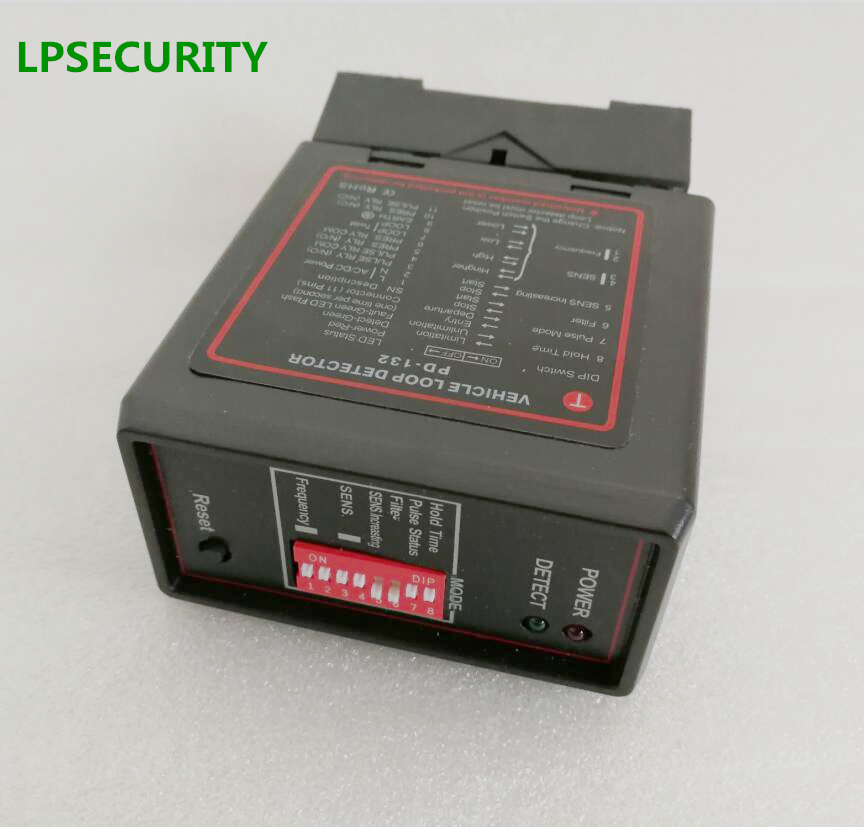 LPSECURITY car parking system Single channel Loop Detector PD132 with a best price/detector de lazo inductivo 12VDC 24VDC 230VAC бра leds c4 lazo 05 1304 g8 55