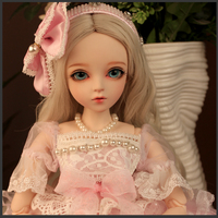 Full Set SuDoll BJD 1/3 Lovely girl Free Eyes wig clothes all included 60cm Doll toys Toy quality