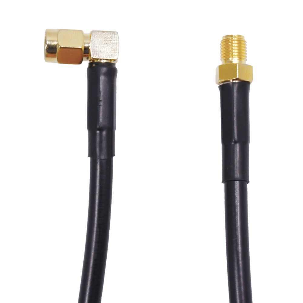 Низкие потери портативное автомобильное радио кабель 16FT/5 м коаксиальный Удлинительный кабель для Автомобильная рация KT-8900 BJ-218 портативное автомобильное радио антенный кабель