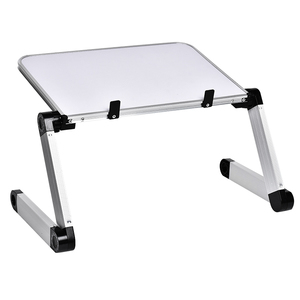 Image 3 - Aluminum Alloy Table Ultralight Portable Folding Laptop Tables Sofa Bed Office Laptop Stand Desk Computer Notebook Bed Table
