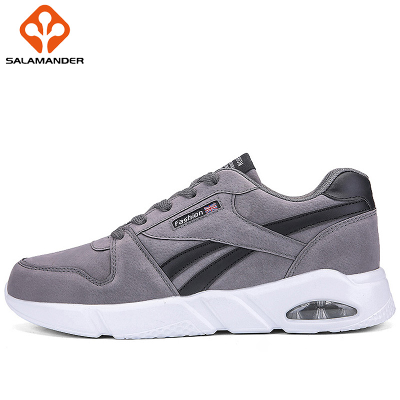 SALAMANDER Summer 2018 New Men Running Shoes Outdoor Athletic Walking Sport Shoes For Men Run Man Brand Breathable Mens Sneakers