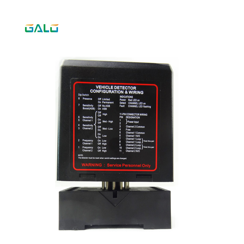 Barrier Gate 2 Channel Car PD232 Loop Detector For Access Control System OEM Use For Parking System