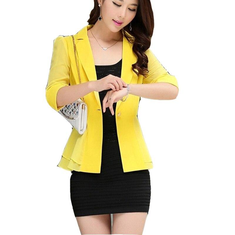 Online Get Cheap Womens Half Blazer Jacket -Aliexpress.com ...