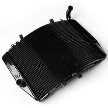 лучшая цена Motorcycle Black Replacement Radiator Cooler For Honda CBR600RR CBR 600 RR 2007-2014 2008 2009 2010 2011 2012 2013