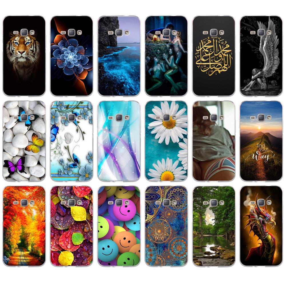 Painting Soft TPU Capa <font><b>Case</b></font> <font><b>For</b></font> <font><b>Samsung</b></font> <font><b>Galaxy</b></font> J1(6) <font><b>J120F</b></font> J1 2016 SM-<font><b>J120F</b></font> Fundas Phone <font><b>Cases</b></font> <font><b>For</b></font> <font><b>Samsung</b></font> J3 J1 J5 2016 A3 A5 image