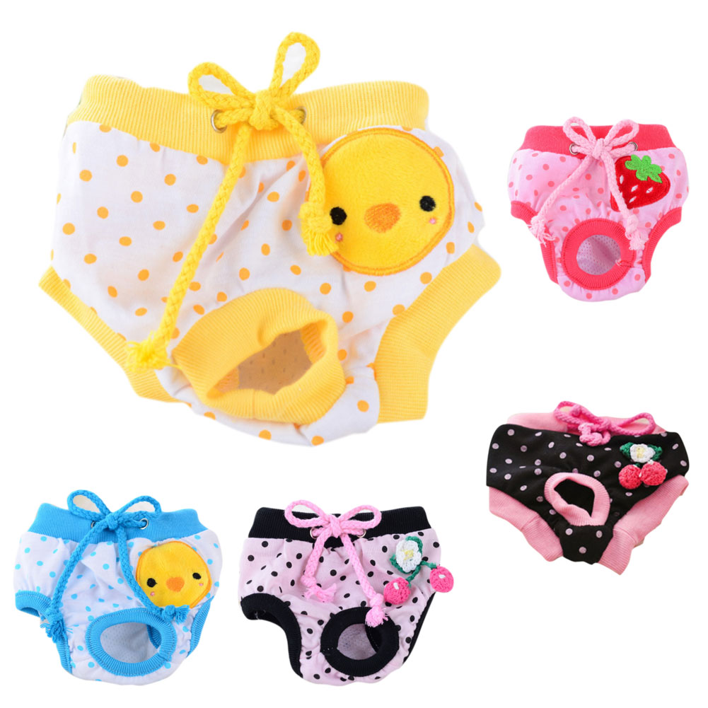 Hot Sale Dog Physiological Shorts Underwear Puppy Briefs Sanitary Pants Small Meidium Dogs Diaper Pet Supplies 8