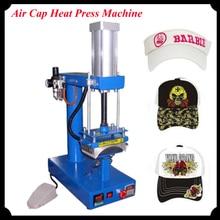 1pc Air Cap Heat Press Machine Pneumatic Heat Printing Machine with English Manual CP815